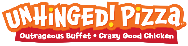 Unhinged! Pizza Logo